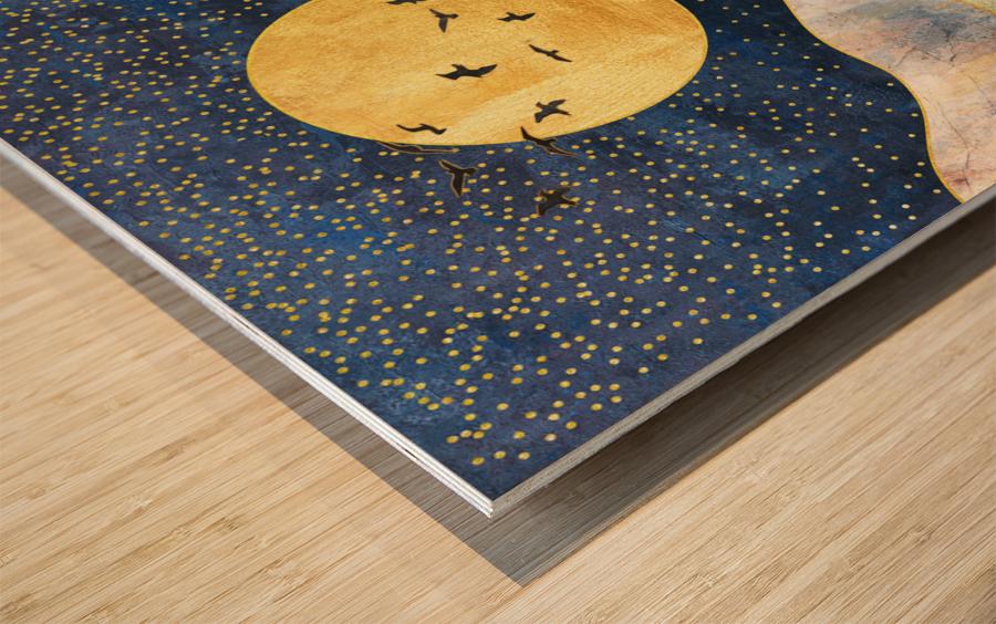 Dream Art XVII Wood print
