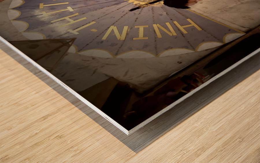 Umbrella maker Wood print