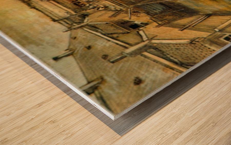 Workshop by Van Gogh Wood print