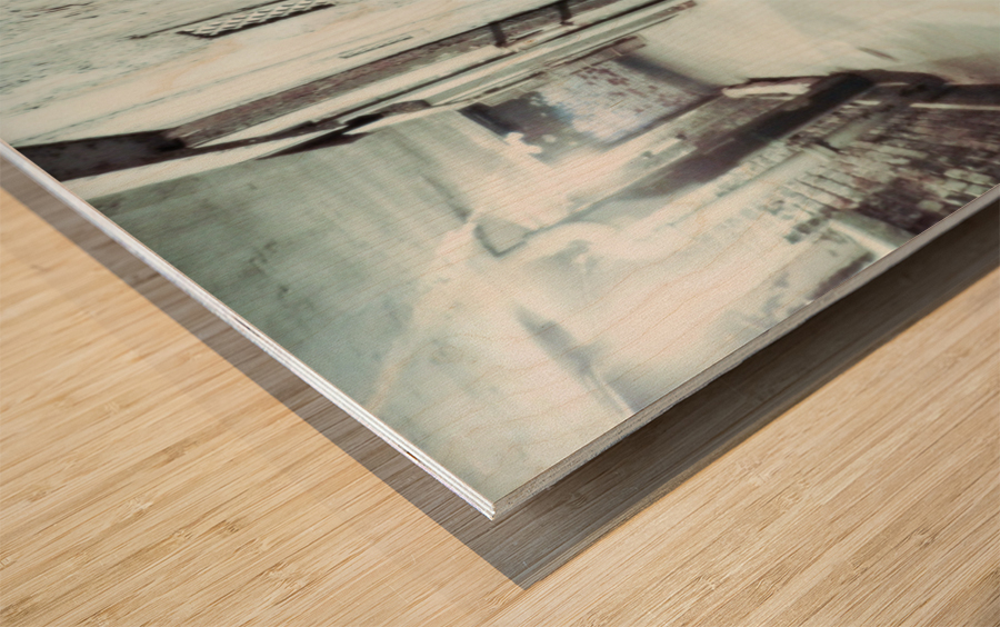 Solitary Wood print