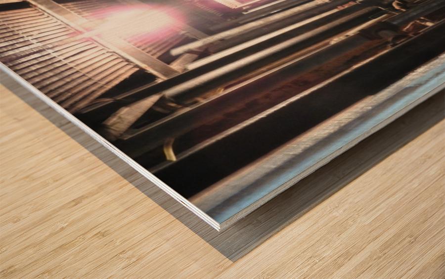 Plumbers Nightmare Wood print