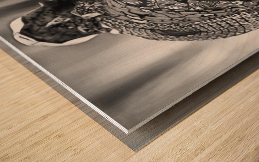 africa 1 Wood print