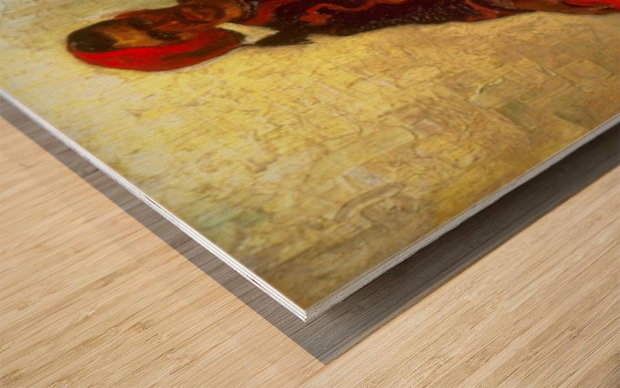Zouave by Van Gogh Wood print