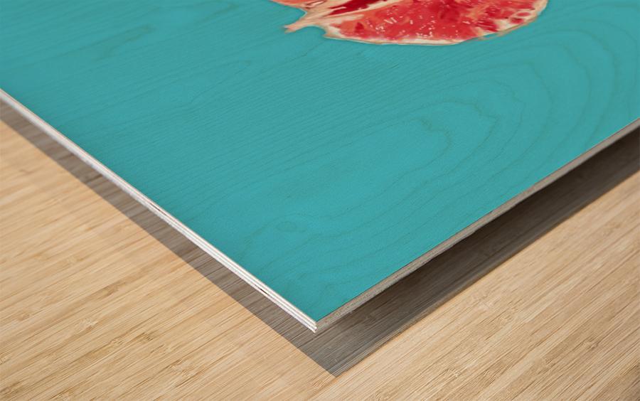 Sanguine Wood print