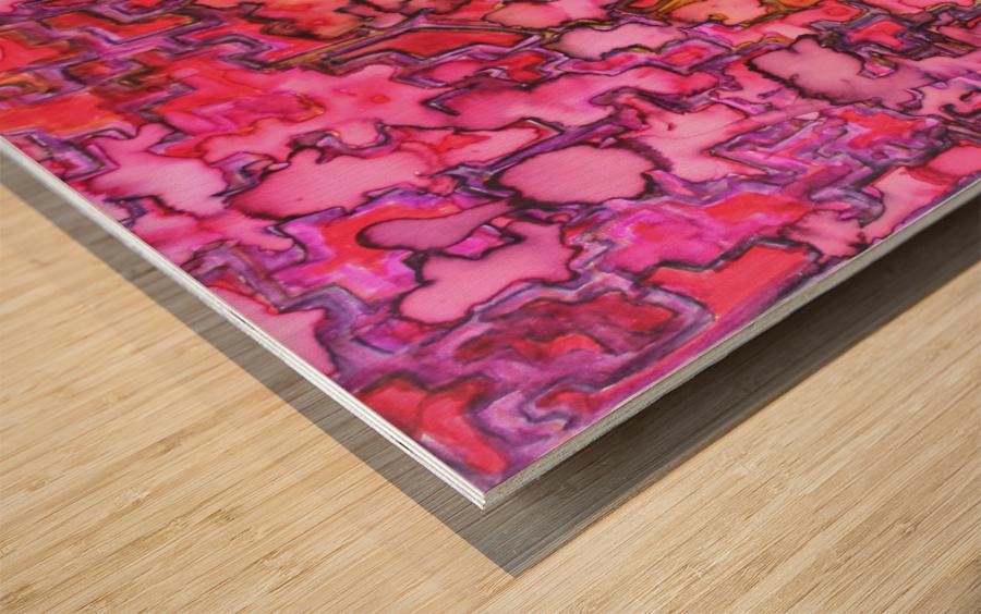RANDOM Wood print