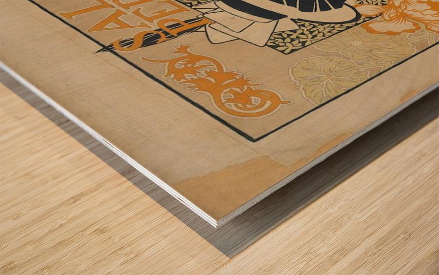 Alexandre de Riquer - Salon Pedal Wood print
