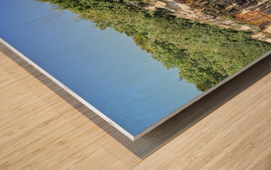 0222 Wood print