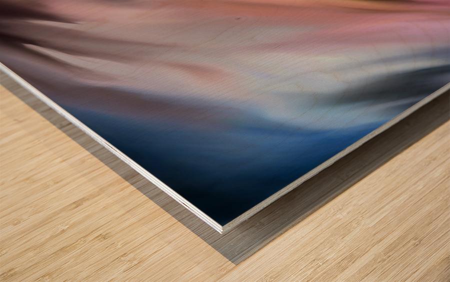 Turbulence Wood print