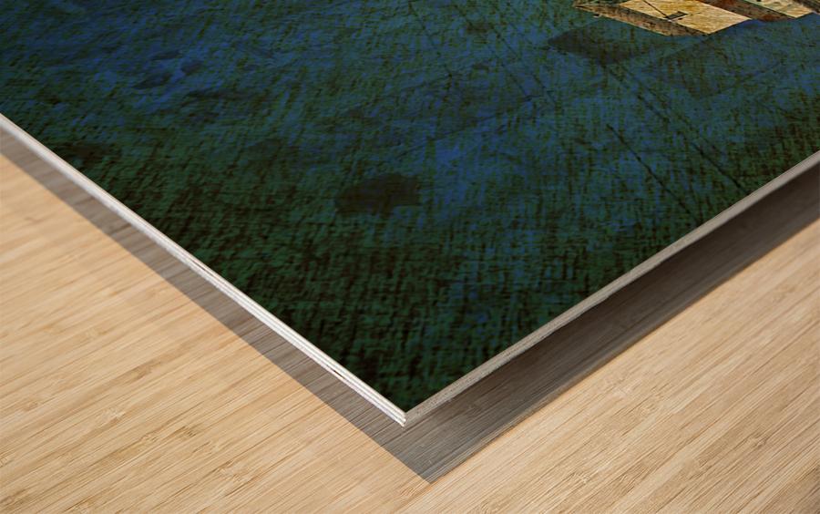 Wheat Pool Wood print