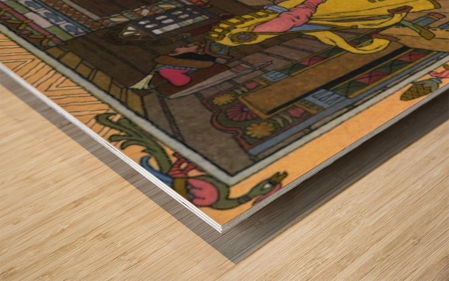 Fantasy Poster 5 Wood print