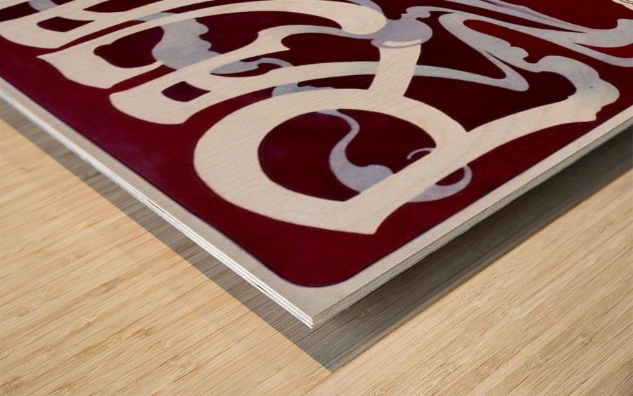 Rajah by Henri Privat-Livemont Wood print