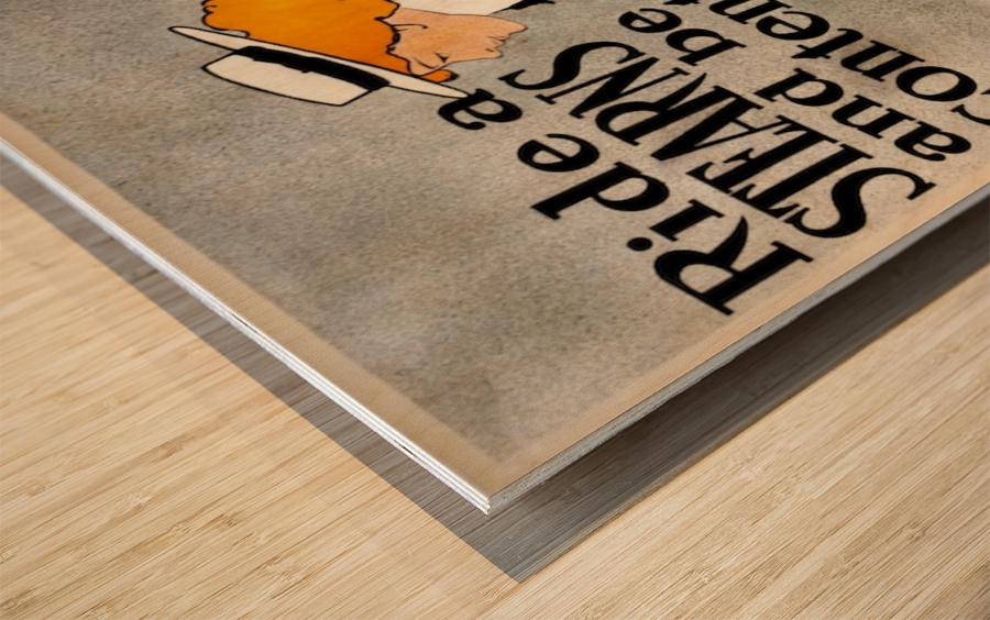 Ride a Stearns Wood print
