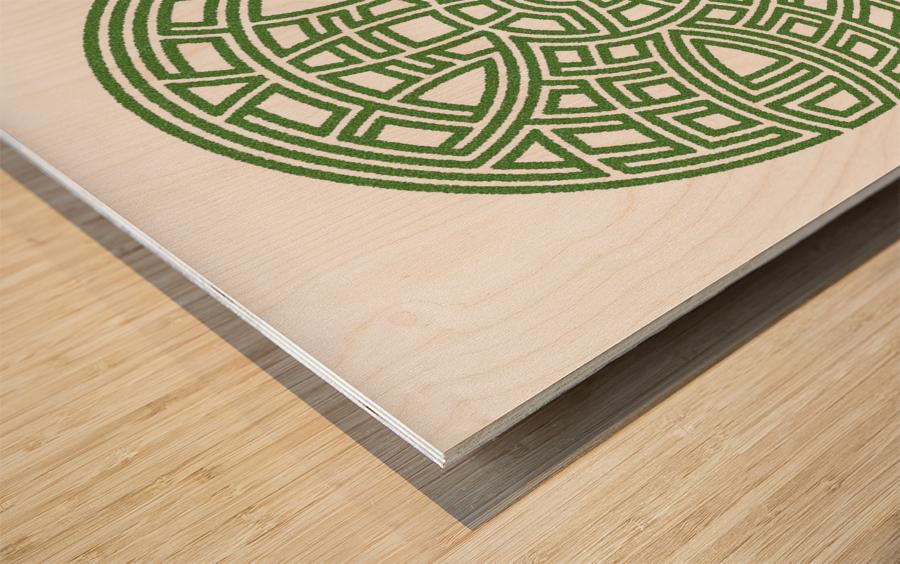 Maze 4802 Wood print