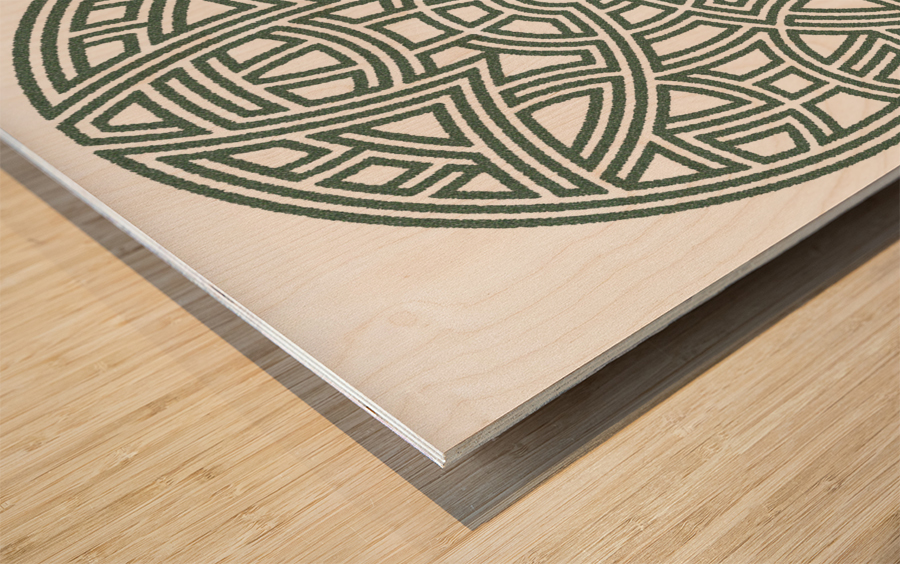 Maze 4810 Wood print