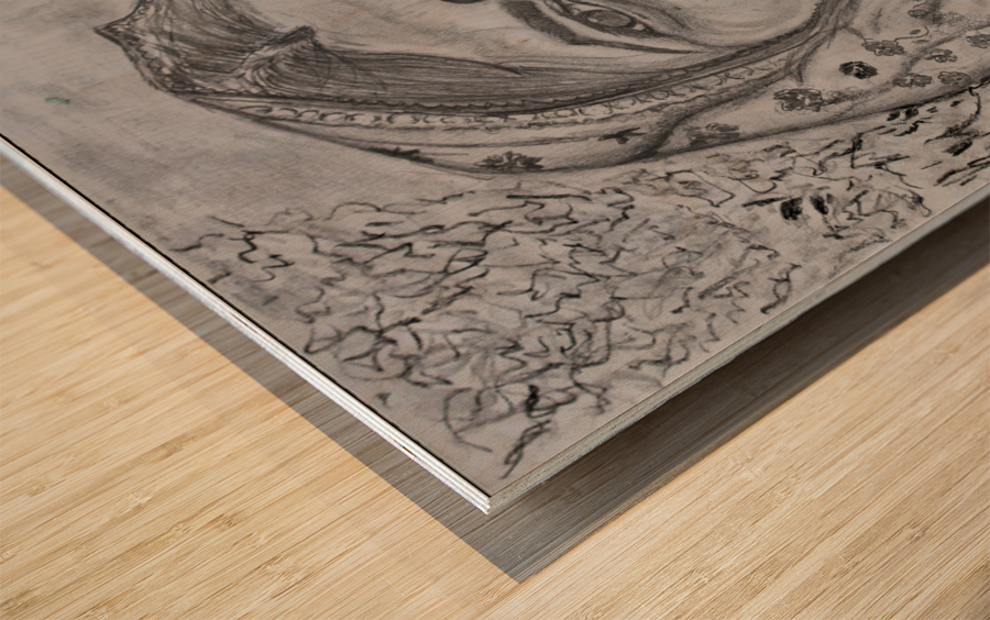 Laxmi Wood print