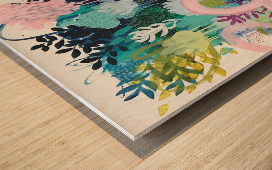 Springtime Wanderer Wood print