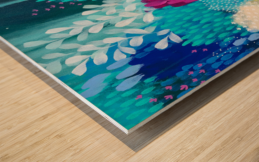 Wanderer Wood print