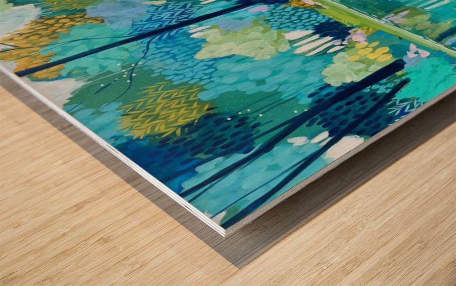 Half a World Away Wood print