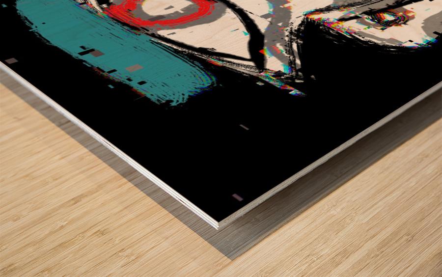 Yo Wood print