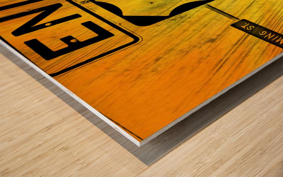 Key West Mile 0 Wood print