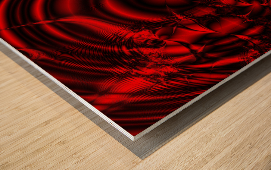RedCell Wood print