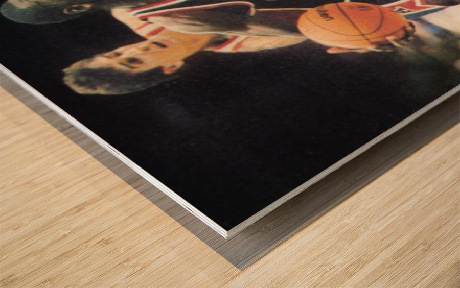 1984 Michael Jordan USA Basketball Art Wood print