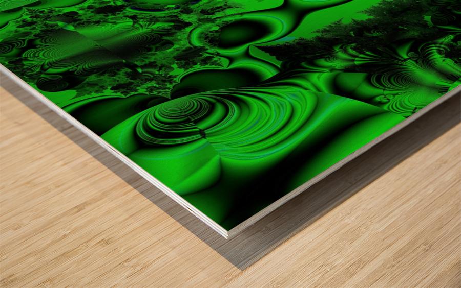 High Shaman Wood print