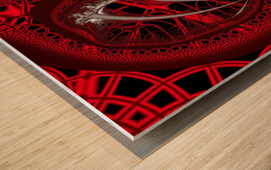 Vampyric cell Wood print