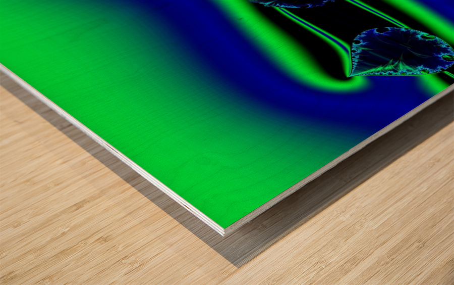 3ofSpades Wood print
