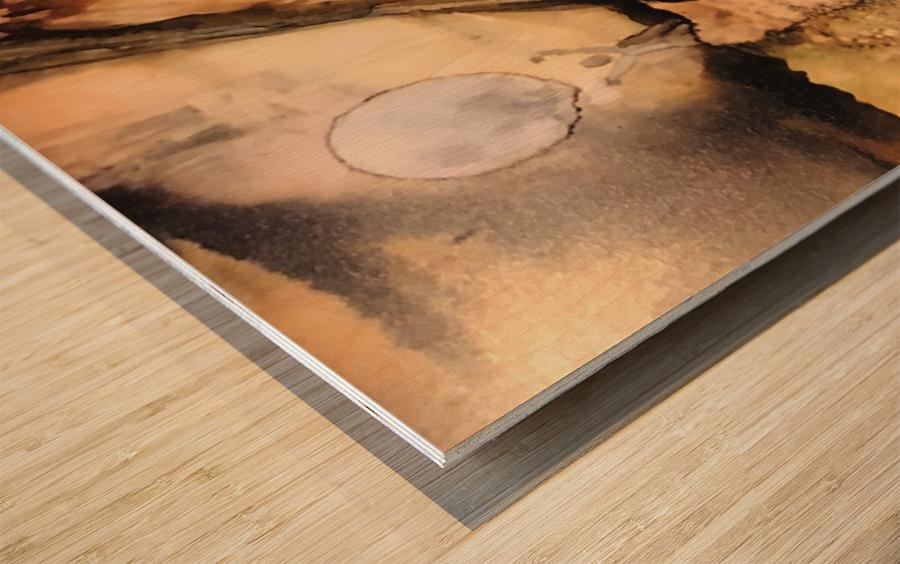 Activation  Wood print