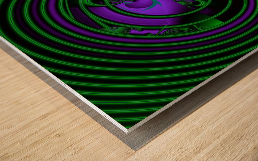 SETI Transmission Wood print
