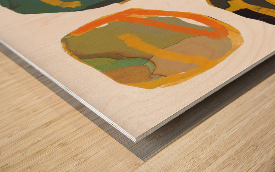 les Precieuses  Wood print