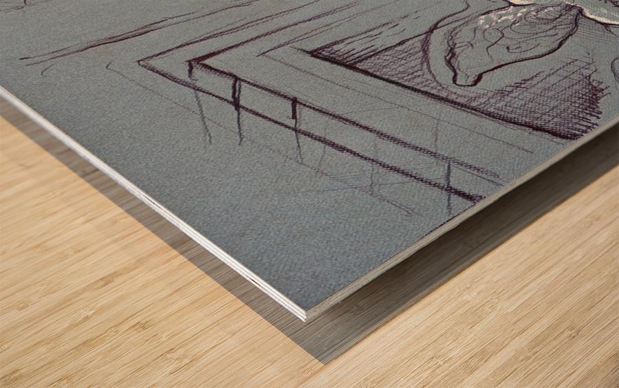 Drenthe Corner  Wood print