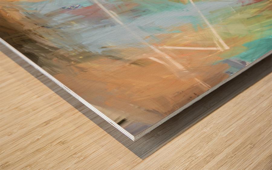 Cosmic Meditation  Wood print