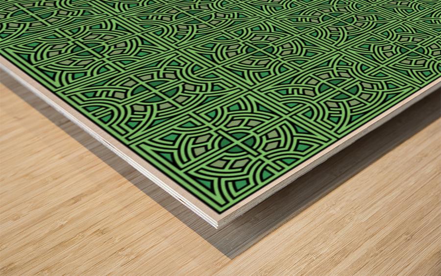 Labyrinth 3611 Wood print