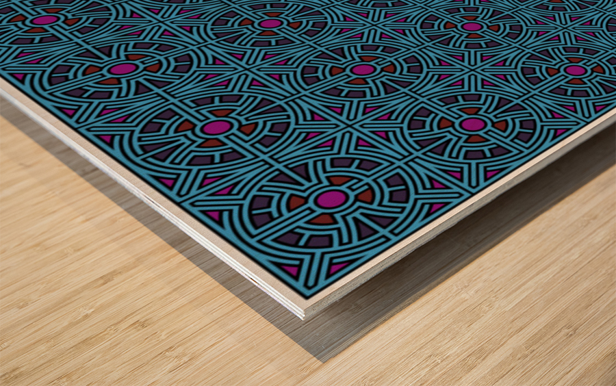 Labyrinth 3604 Wood print