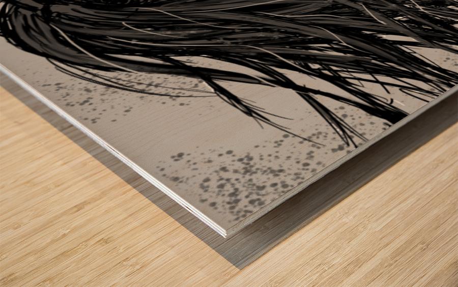 Precious Metals - Concept Art 2 - Silver Wood print