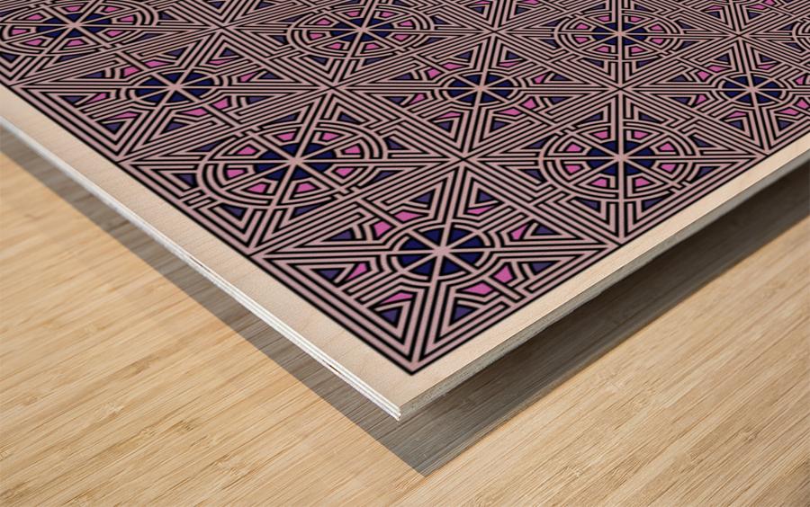 Labyrinth 4101 Wood print
