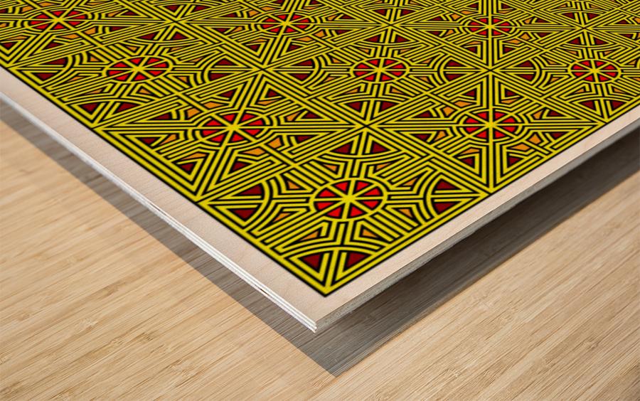 Labyrinth 4103 Wood print