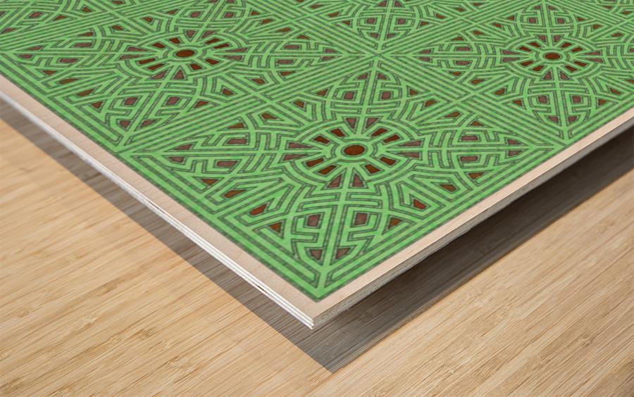 Labyrinth 3603 Wood print