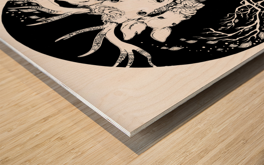 Charpatian Soul Wood print