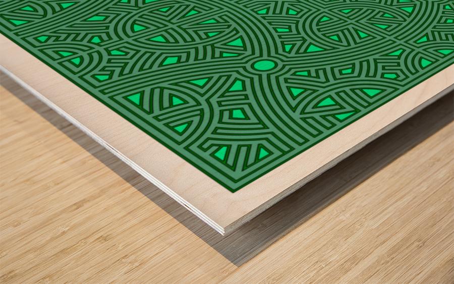 Maze 2800 Wood print