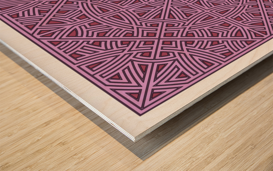 Maze 2876 Wood print