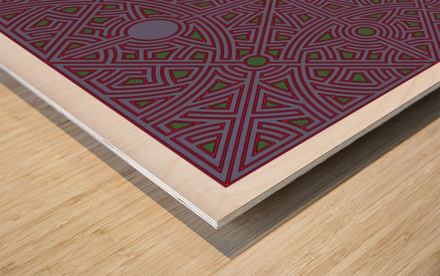 Maze 2863 Wood print
