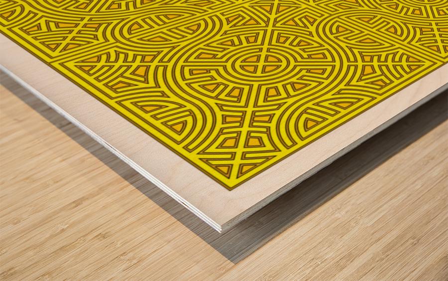 Maze 2880 Wood print