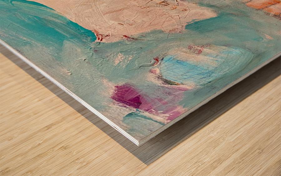 Circus Abstract No1 Wood print