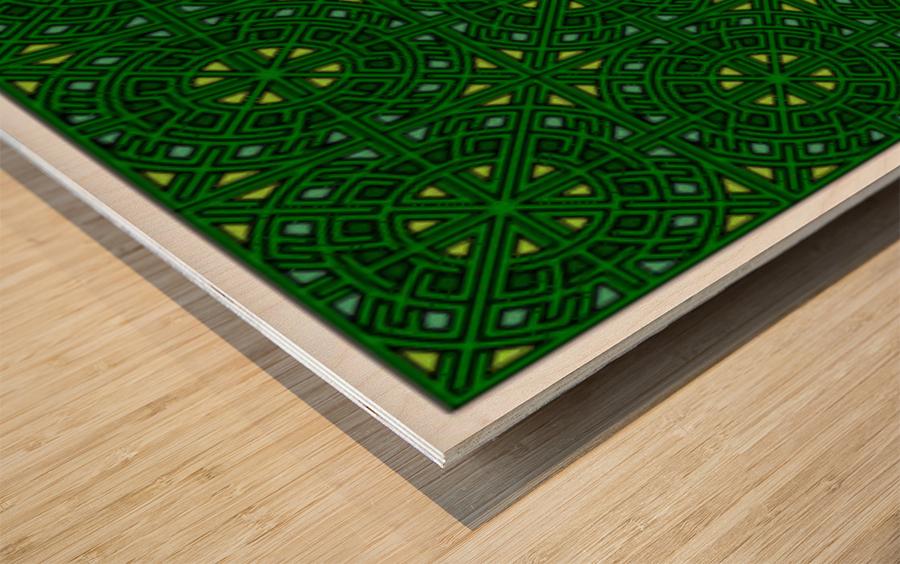 Banner 1503 Wood print