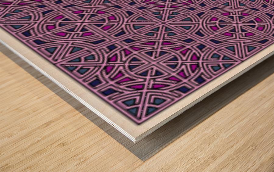 Banner 1502 Wood print