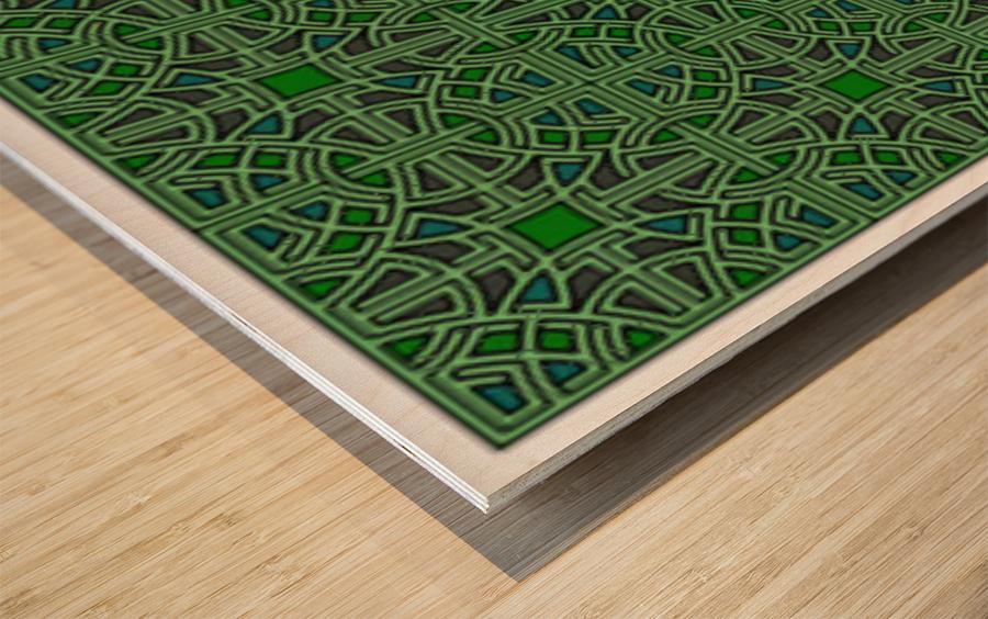 Banner 1501 Wood print