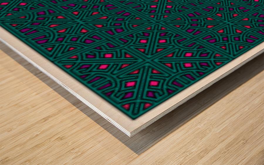 Banner 1504 Wood print